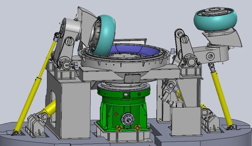 立式磨机液压缸